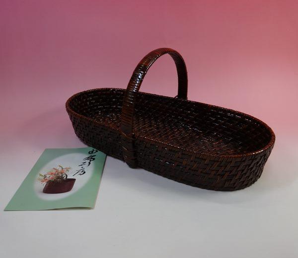 宅配買取 由布工房 天然竹製の籠