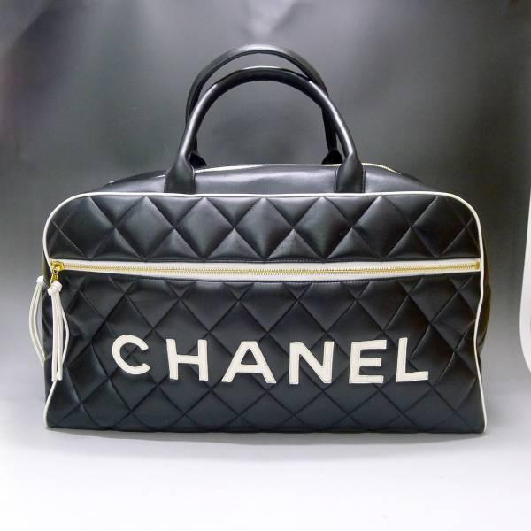 シャネル CHANEL マトラッセ ボストンバッグを宅配買取させて頂きました。