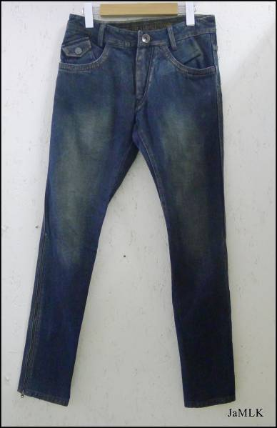 ブランド衣類の買取はジャムルK 14th Addiction デニム パンツ 裾チャック