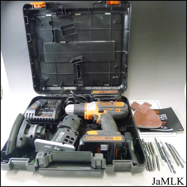 電動工具工具の買取ならジャムルK 本日の買取商品はBLACK+DECKER 18V。石川県内出張買取致します♪