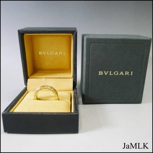 BVLGARI  B.zero 1 フルダイヤ リング K18 750 6.9グラム ブルガリ