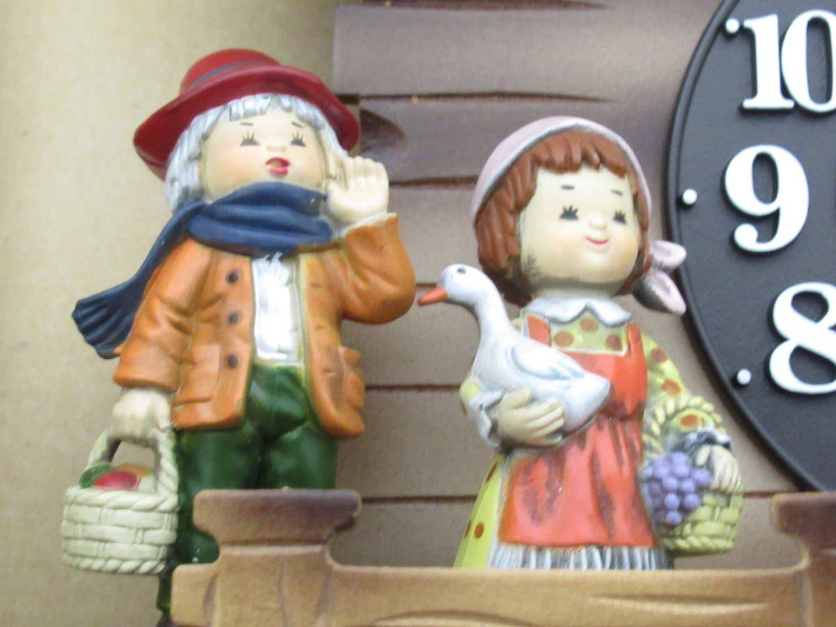 シチズン メルヘンハウス クオーツポッポ からくり時計 鳩時計 3